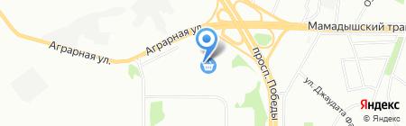 РОК 1-Казань на карте Казани