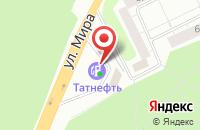 Схема проезда до компании Техносервис в Казани