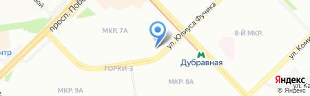 Вариант на карте Казани