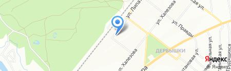 Унилэнд на карте Казани