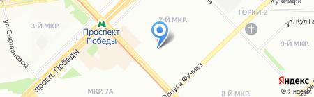 Детский сад №373 Аленький цветочек на карте Казани