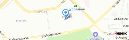 Детская музыкальная школа №20 на карте Казани