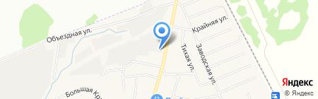 Нур-Драйв на карте Столбища