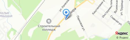 Джаз де флер на карте Казани