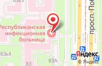 Схема проезда до компании Классик в Череповце