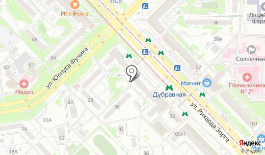 Магазин игрушек на ул. Рихарда Зорге. Схема проезда в Казани