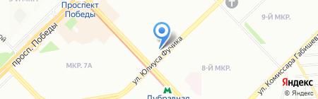 Спорт и рыбалка на карте Казани