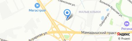 УНИВЕРСАЛ АВТО на карте Казани
