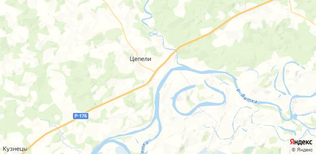 Красногоры на карте