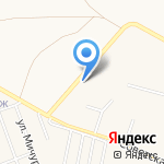 Амати на карте Тольятти