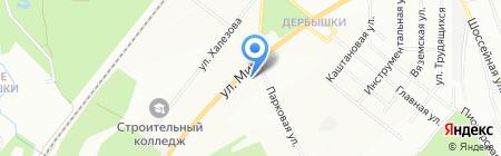 Каенлык на карте Казани