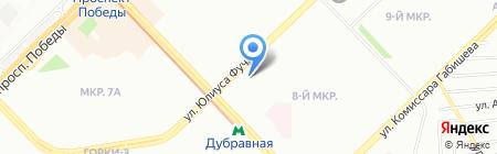 Стоматология на карте Казани