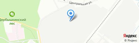Адамант на карте Казани