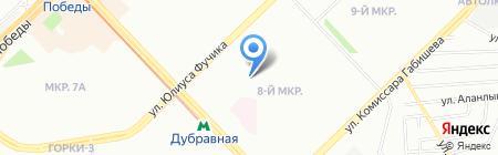 Детская музыкальная школа №14 Приволжского района на карте Казани