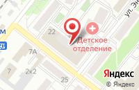 Схема проезда до компании Калинка в Казани