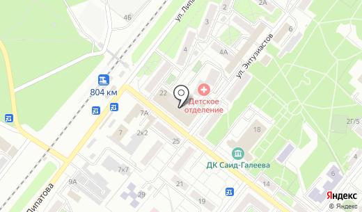 Альпари. Схема проезда в Казани