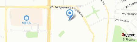 Межрегиональный центр содействия на карте Казани