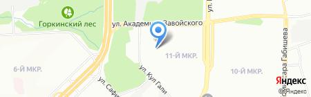 Детский сад №157 Колокольчик на карте Казани