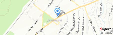 Лидер связи на карте Казани
