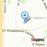 Добрая столовая на карте Казани