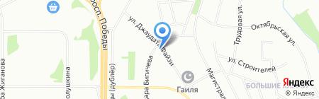 Саулык на карте Казани