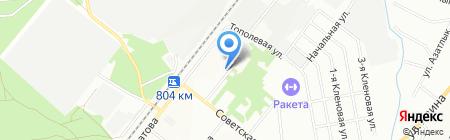 Отдел полиции №14 Дербышки на карте Казани