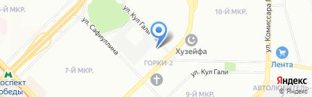 Лестницы частного мастера на карте Казани