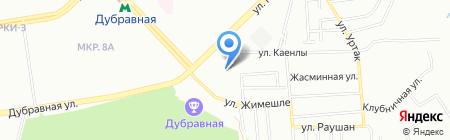 Детский сад №90 на карте Казани