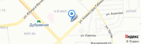 Городская поликлиника №21 на карте Казани