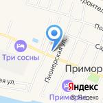 Золотой колосок на карте Тольятти