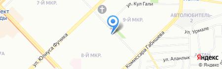 Легран на карте Казани