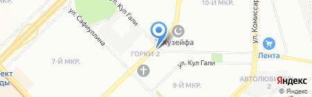Товары для праздника на карте Казани