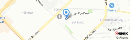 Отдел полиции №9 Сафиуллина на карте Казани