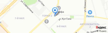 Афродита на карте Казани