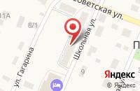 Схема проезда до компании Почтовое отделение в Приморском