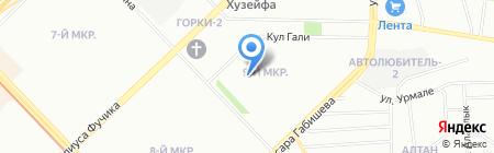 Детский сад №71 на карте Казани