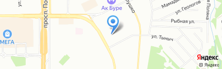 Детский сад №60 Тамчы на карте Казани
