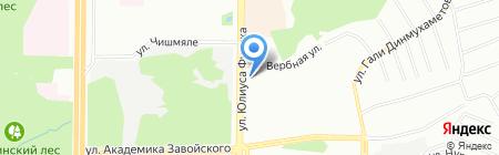 Русаль на карте Казани