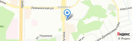 АМК на карте Казани