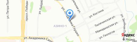 Анталия на карте Казани