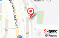 Схема проезда до компании Спецжилавтоматика в Казани