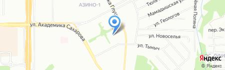 Детский сад №48 Бэлэкэч на карте Казани