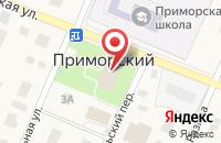 Схема проезда до компании Библиотека в Приморском