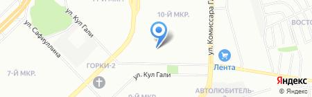 CКМ-Климат на карте Казани