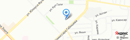 Детский сад №358 Дубравушка на карте Казани