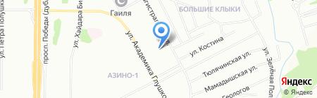 Детский сад №113 на карте Казани