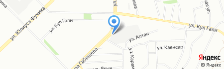 Торгово-ремонтная компания на карте Казани