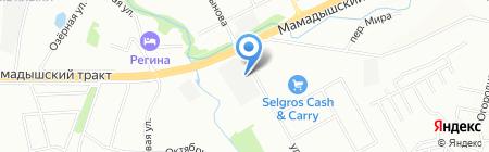 АС-Трак на карте Казани