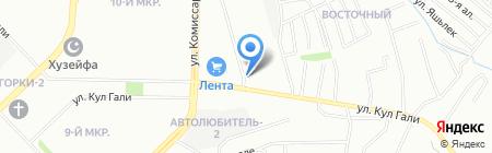 Жасмин на карте Казани