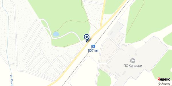 Ёлочка на карте Березовке